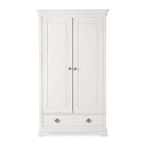 Chanel White Double Wardrobe