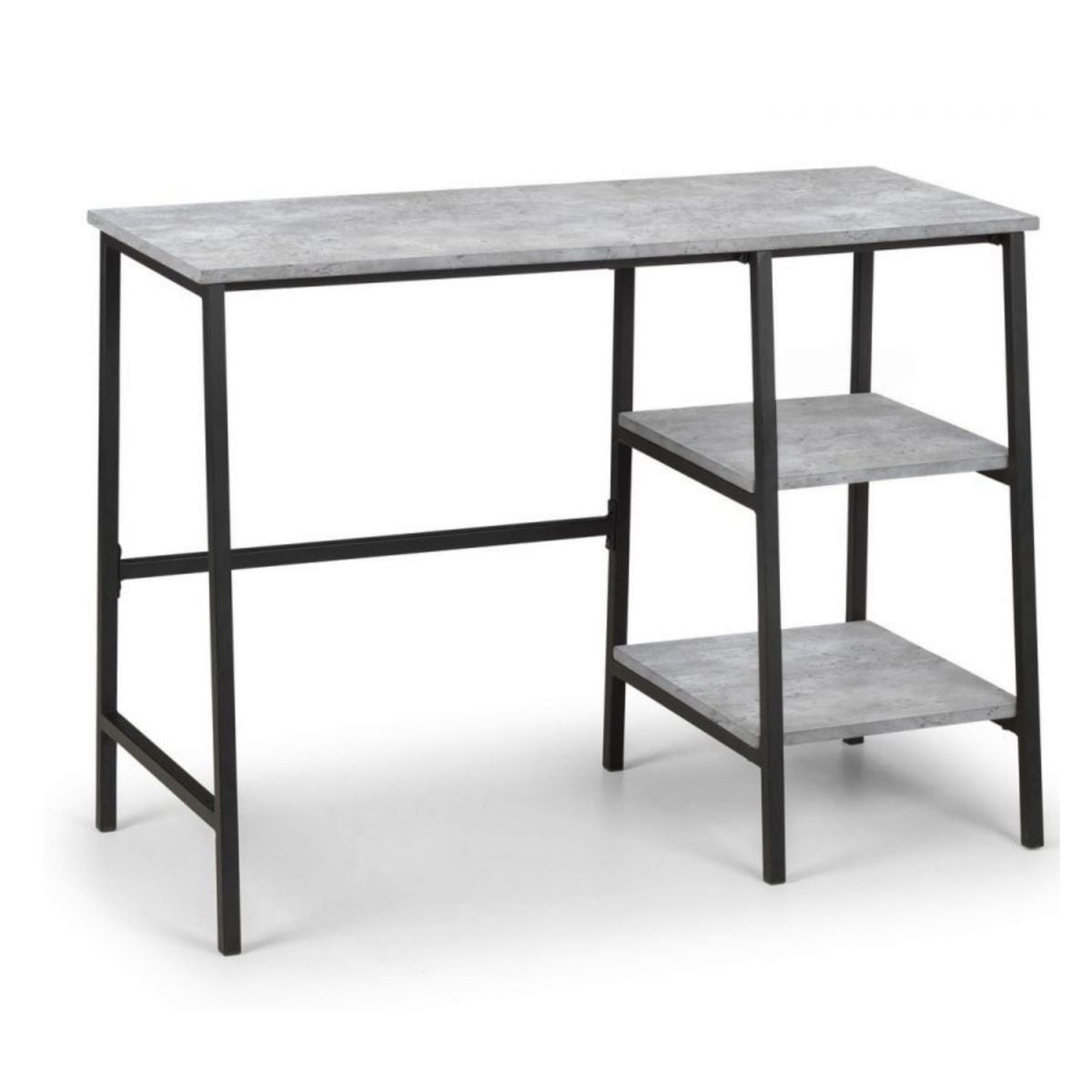 Shay Concrete-Effect Office Desk