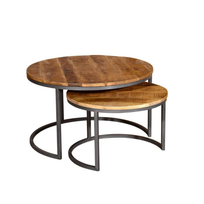 Sorgeal Nesting Coffee Table Set