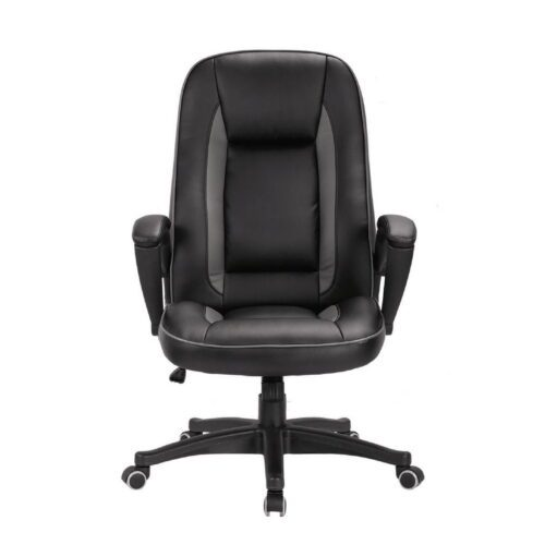 Cashel High Back Black & Grey Swivel Office Chair