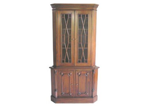 French 2 Door Corner Display Unit