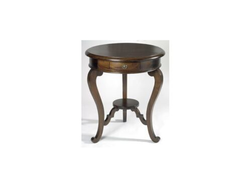 French Circular Lamp Table