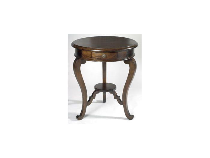 French Circular Lamp Table