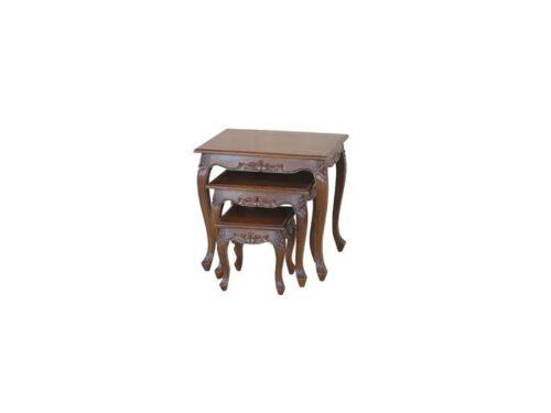 Dark Mahogany Nest of Tables