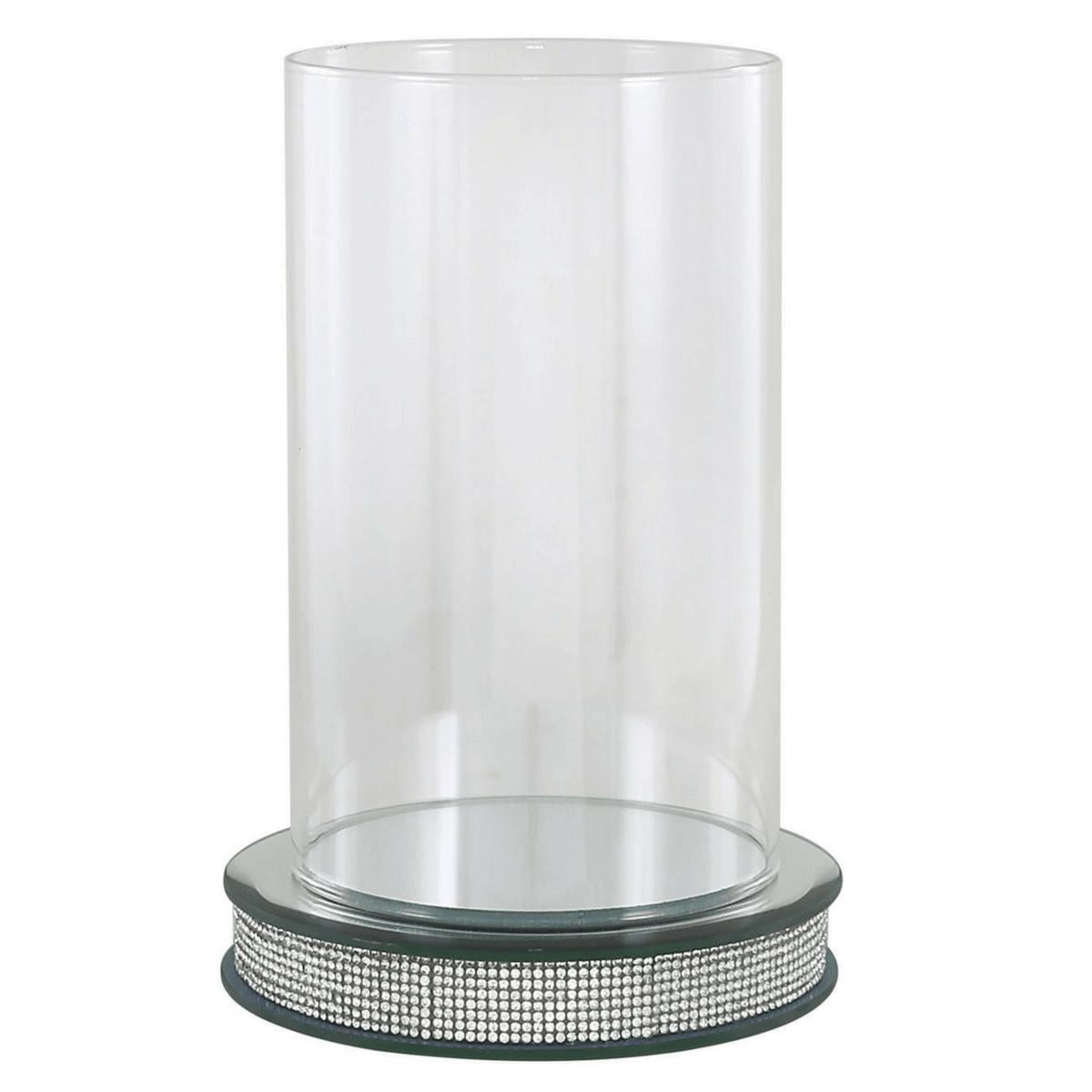 Glitz Hurricane Pillar Candle Holder