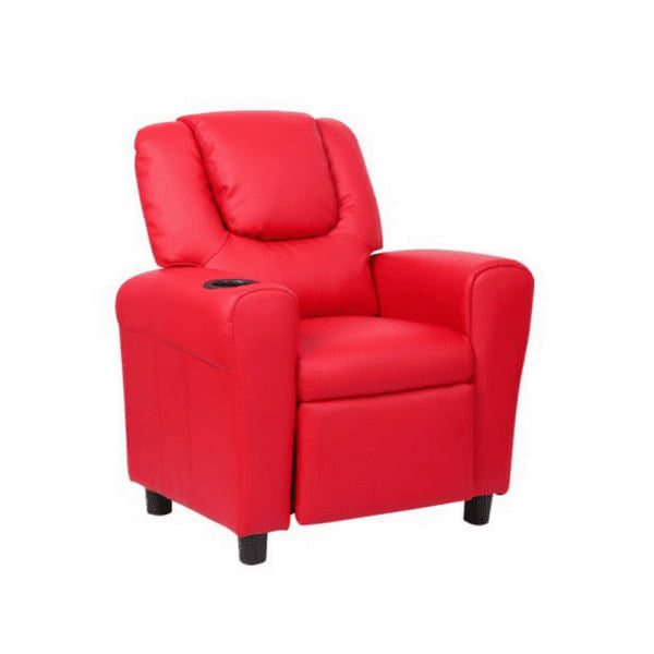 Kids Recliner with Cup Holder