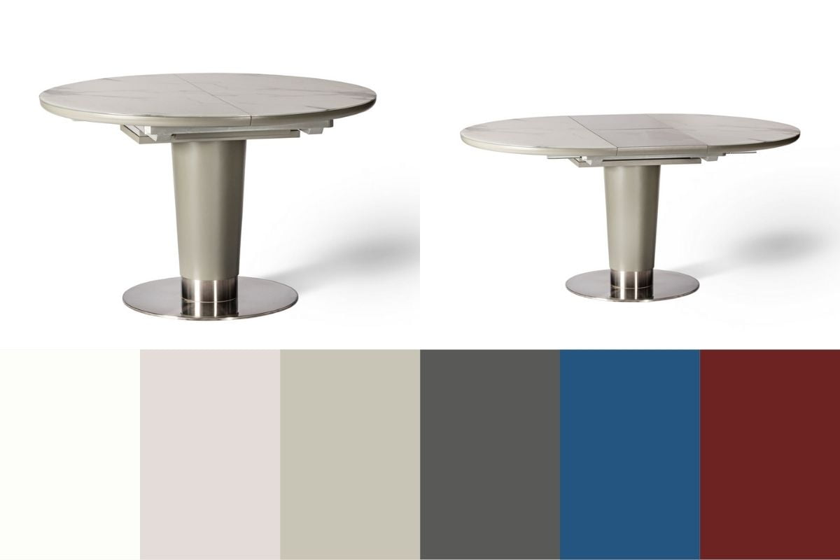 brentwood dining table and colours