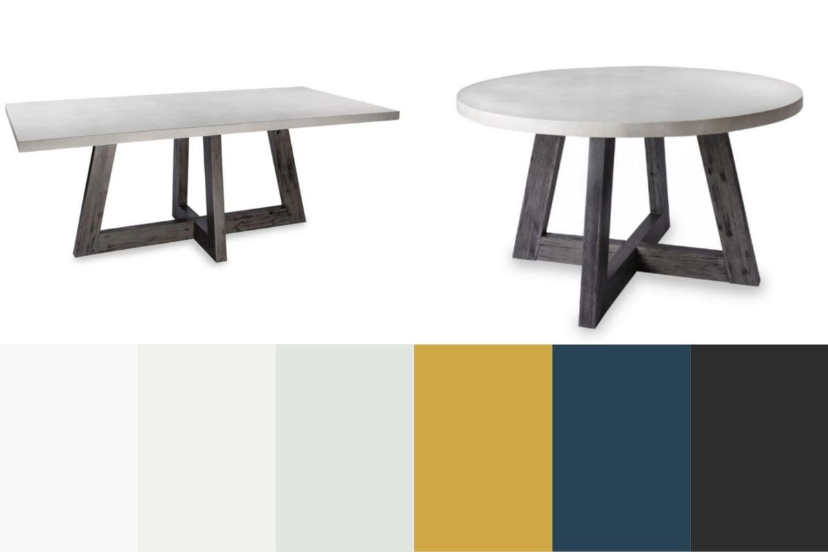 aurelius dining table and colours
