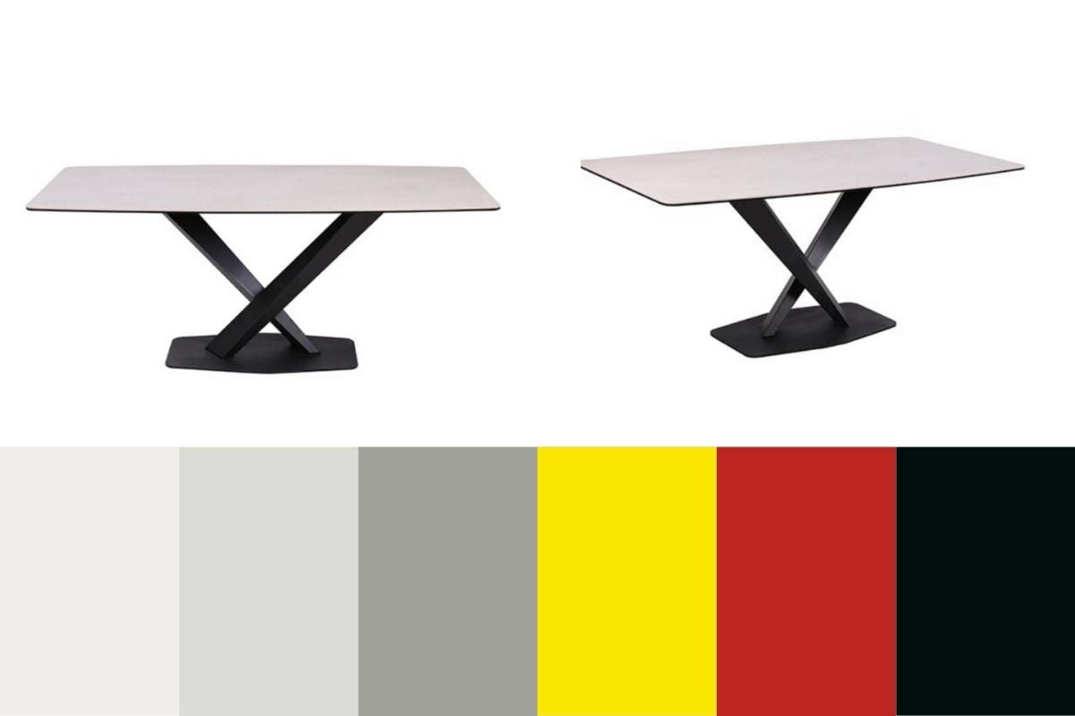 duggan dining table and colours