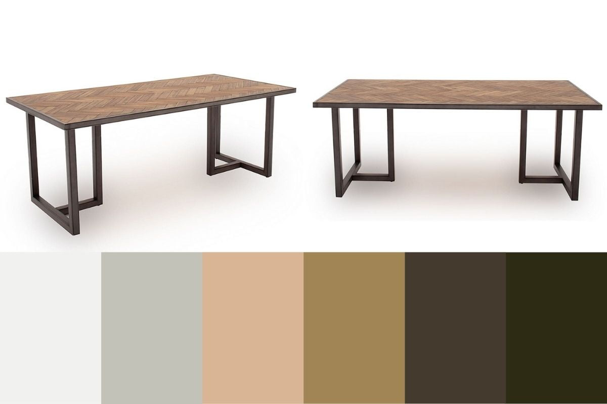 vita dining table and colours