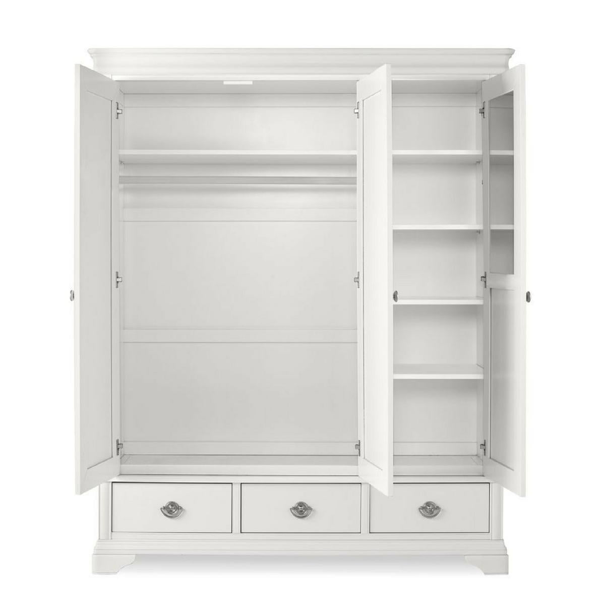 Chanel White Wardrobe
