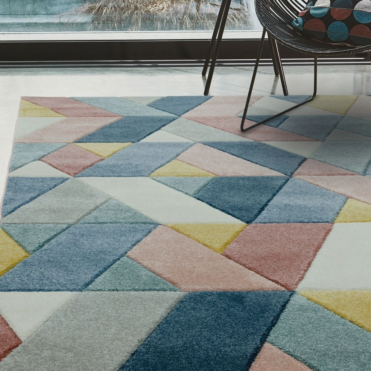 Howie Navy Console Table