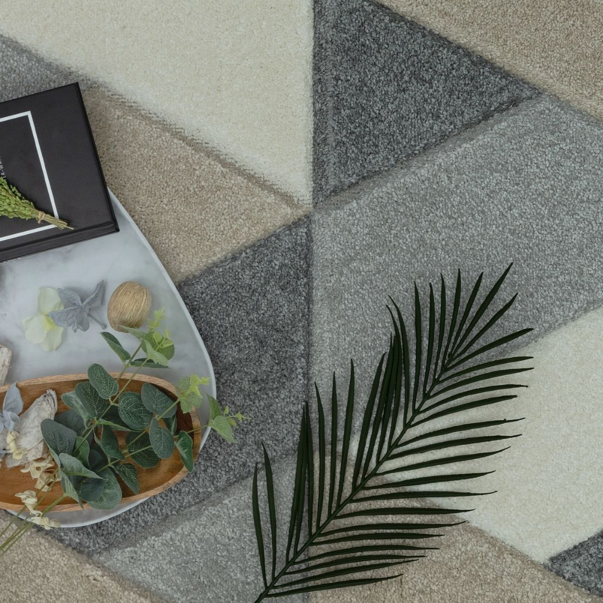 Howie Navy Lamp Table