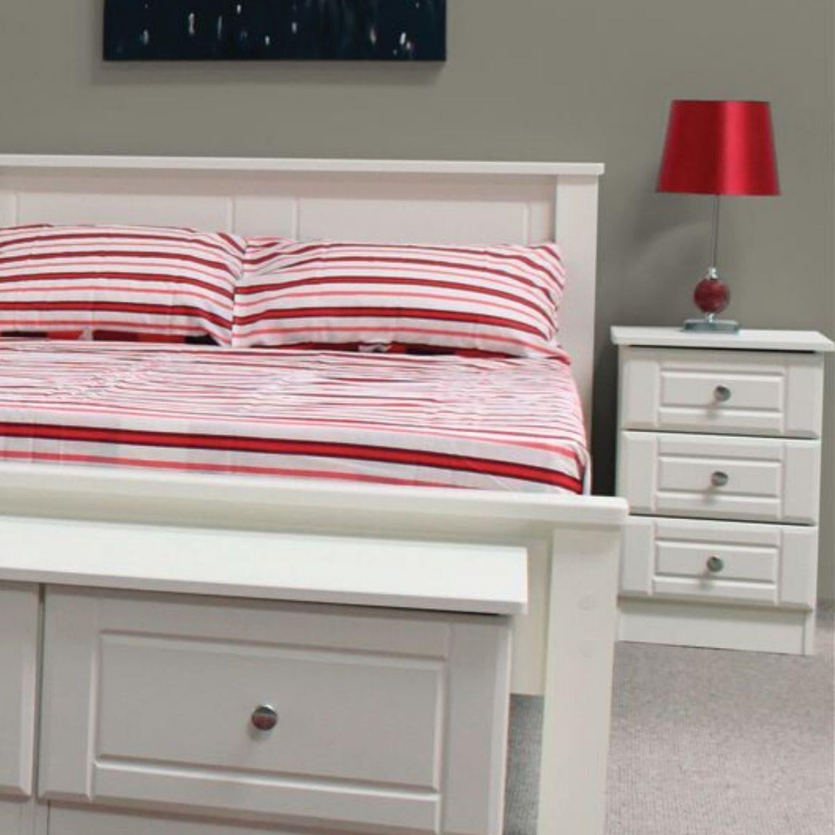 Becky Bed Frame Ivory