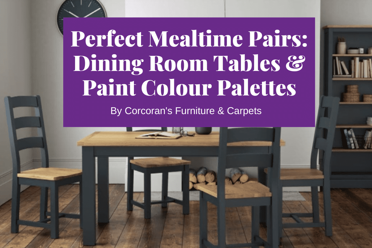 dining tables and dining room colours