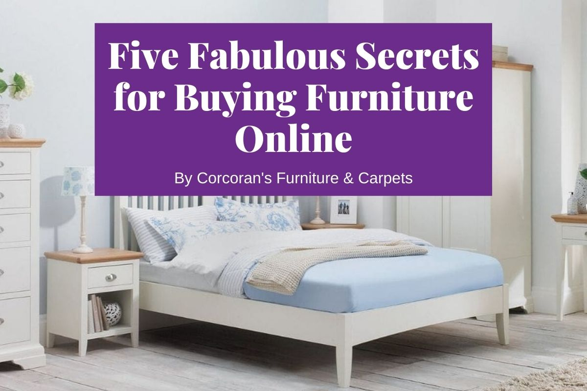 Add to cart! 5 fabulous secrets for buying furniture online