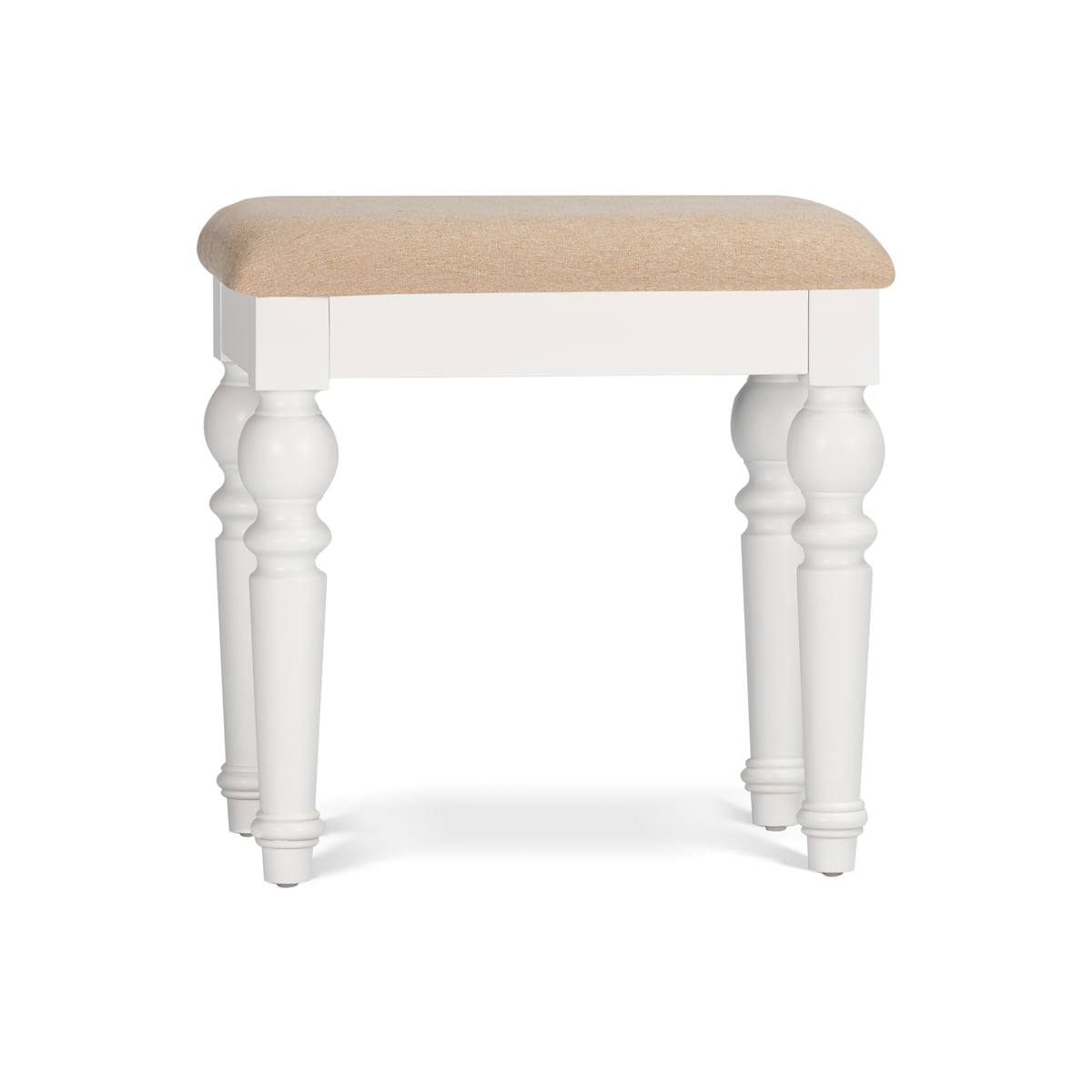 Clifford White Stool