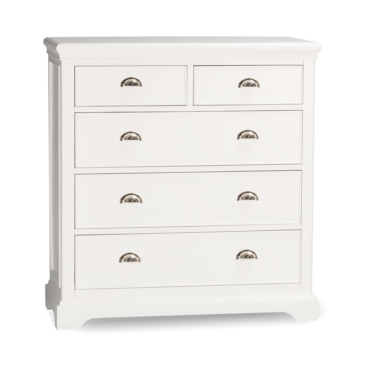 Clifford White Tall Chest of Drawers