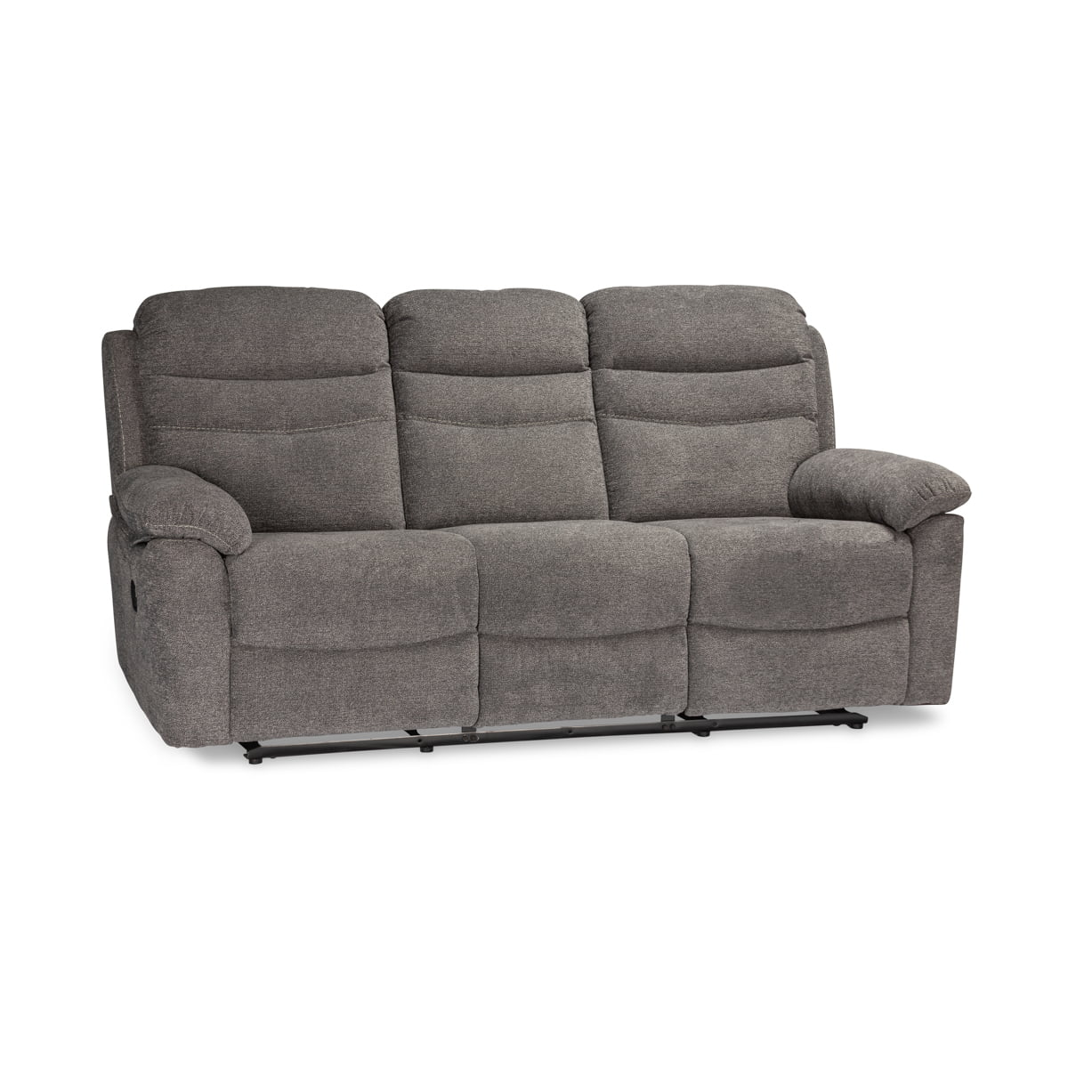 Bellmore Grey 3 Seater Recliner