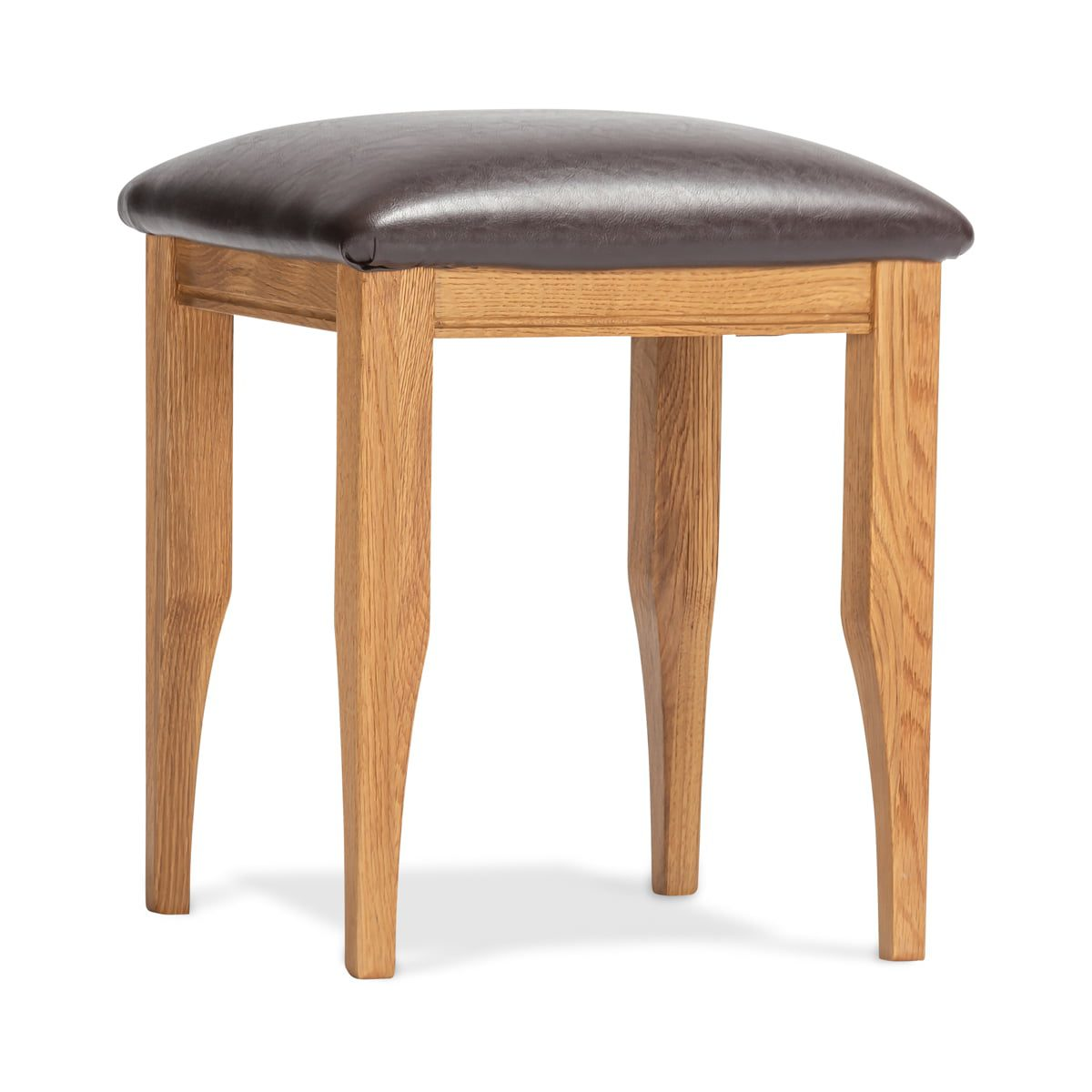 Lagan Oak Dressing Stool