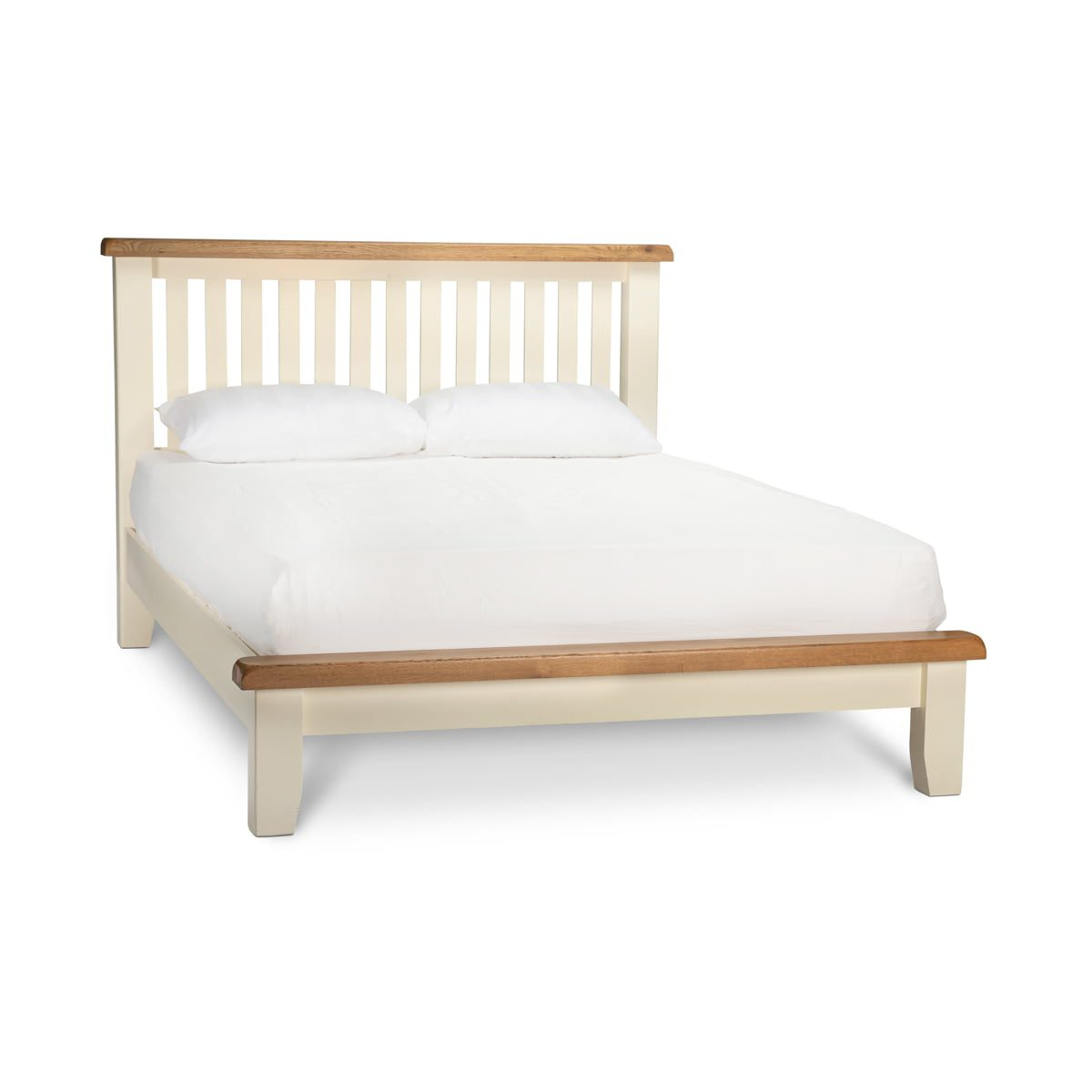 Cannes Two-Tone Bed Frame
