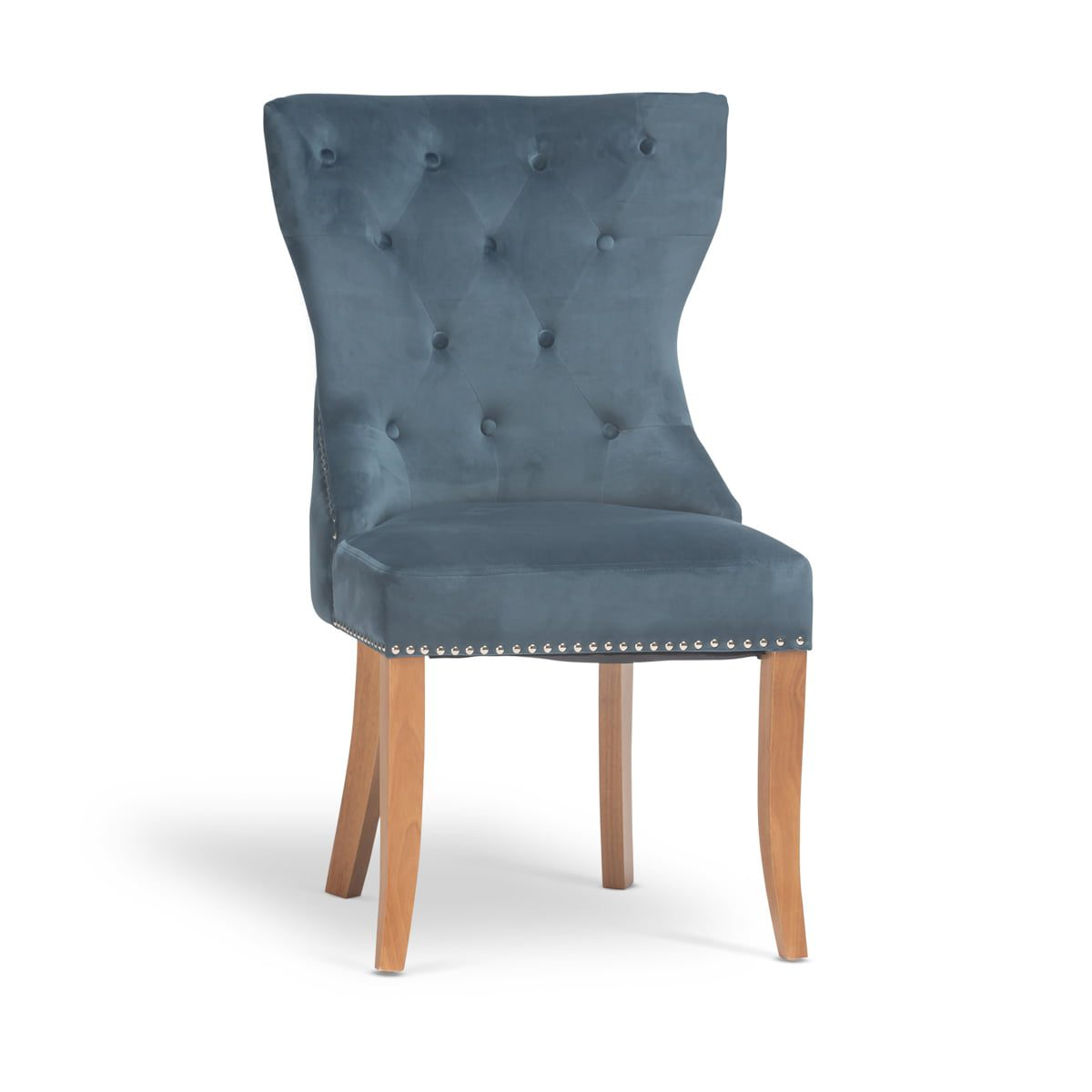 Tufted Plush Dining Chair