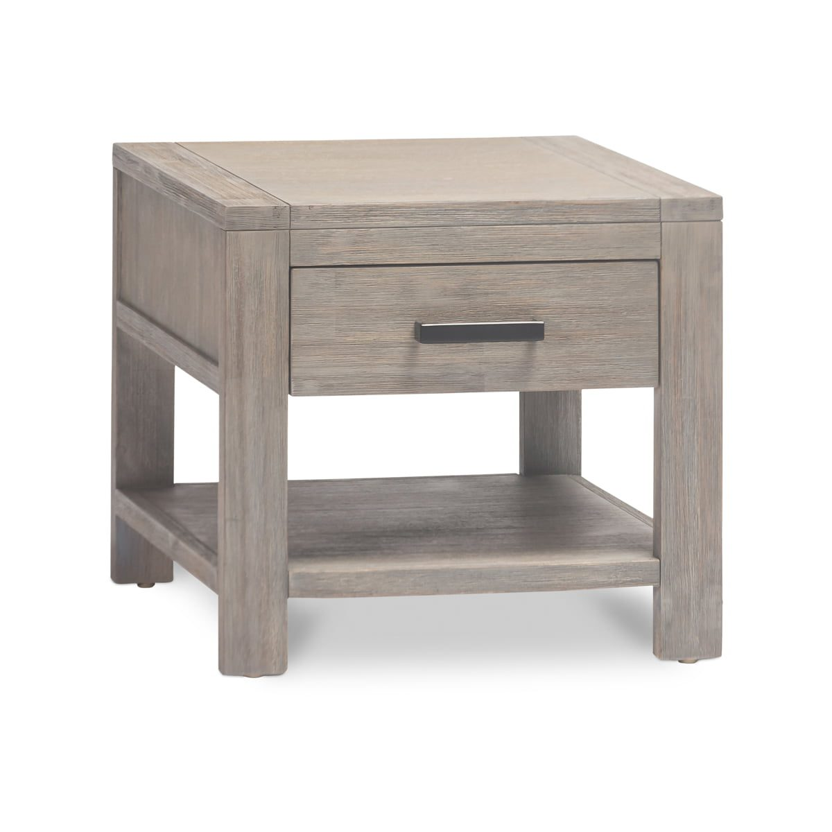 Small Grey Bedside Table