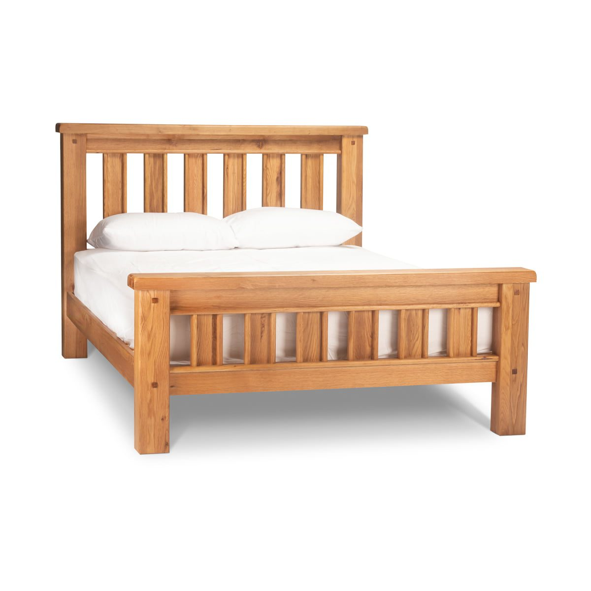 Natural Wood Bed Frame