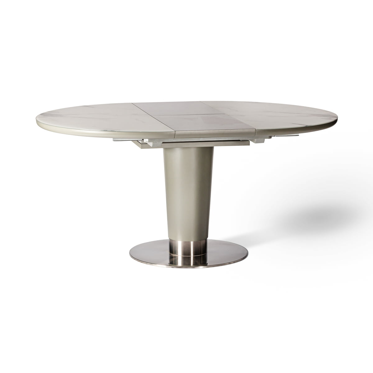 Brentwood Round Grey Dining Table