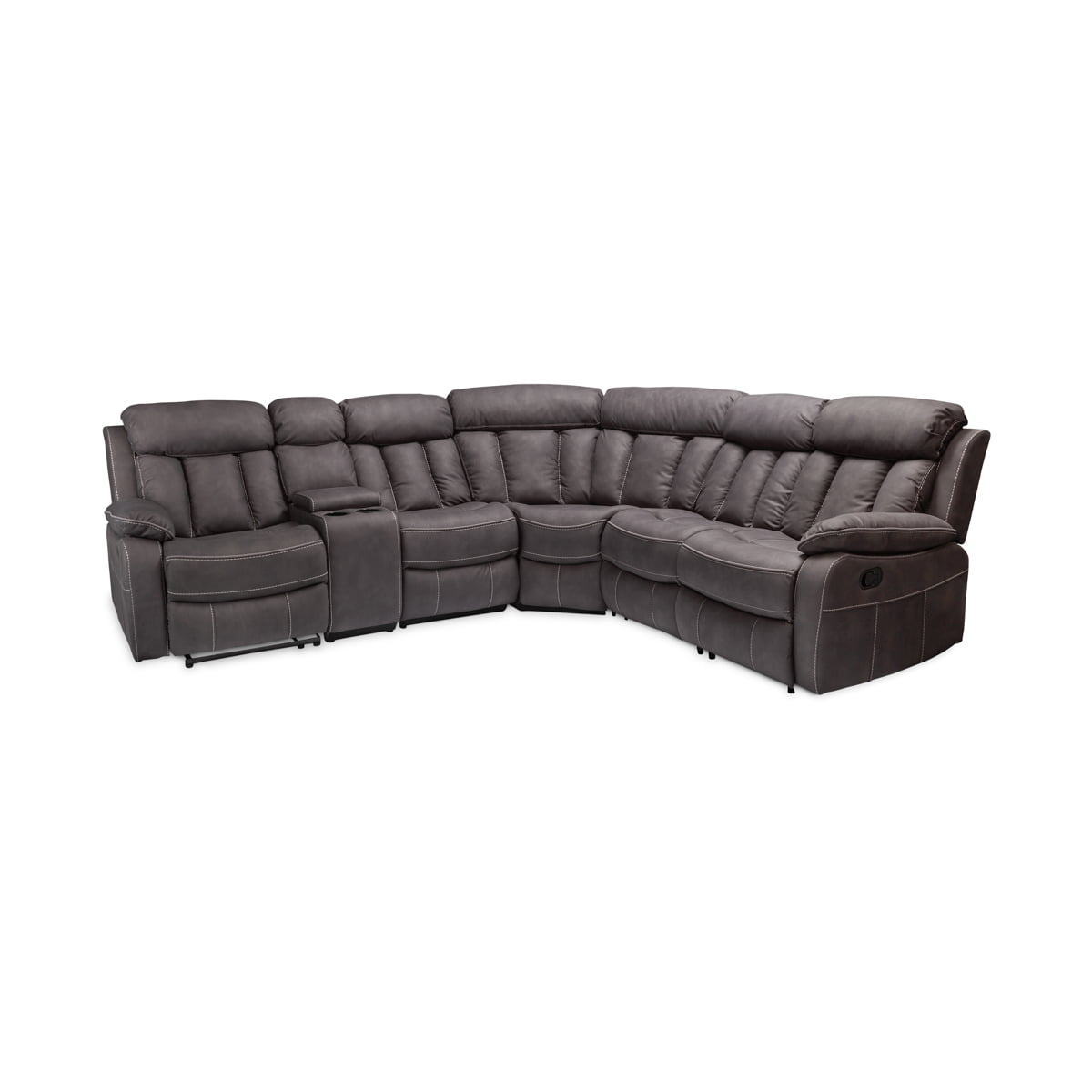 Junior Dark Grey Corner Suite
