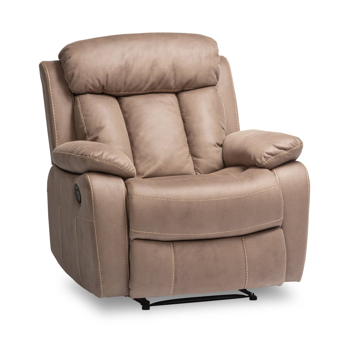 Junior Taupe Recliner Armchair