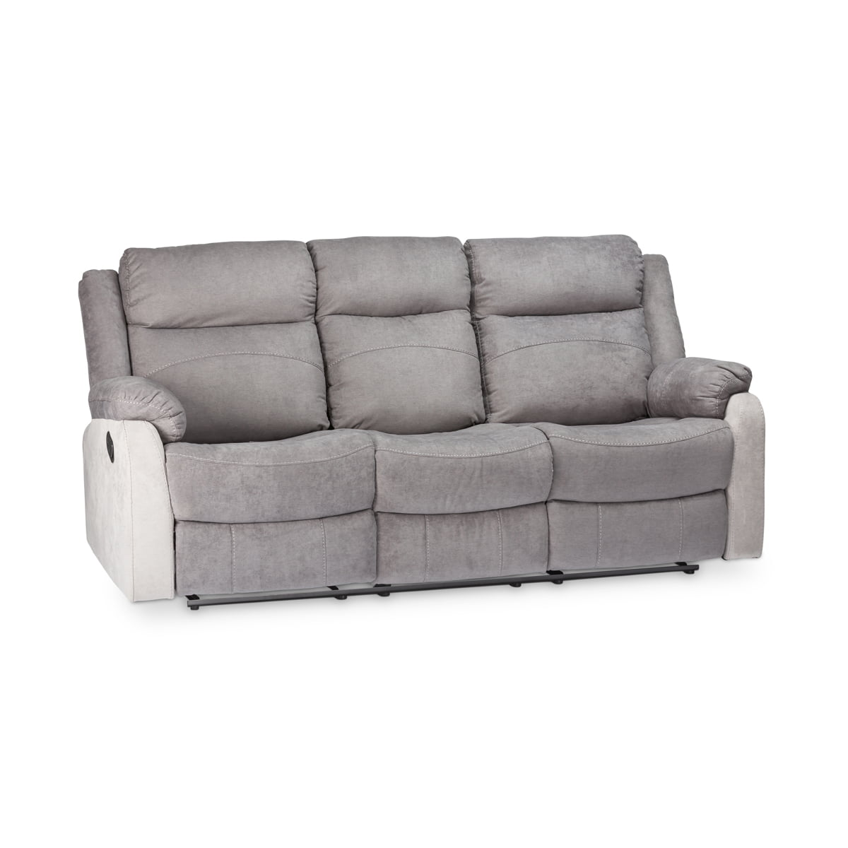 Elijah Two-Tone 3 Seater Recliner