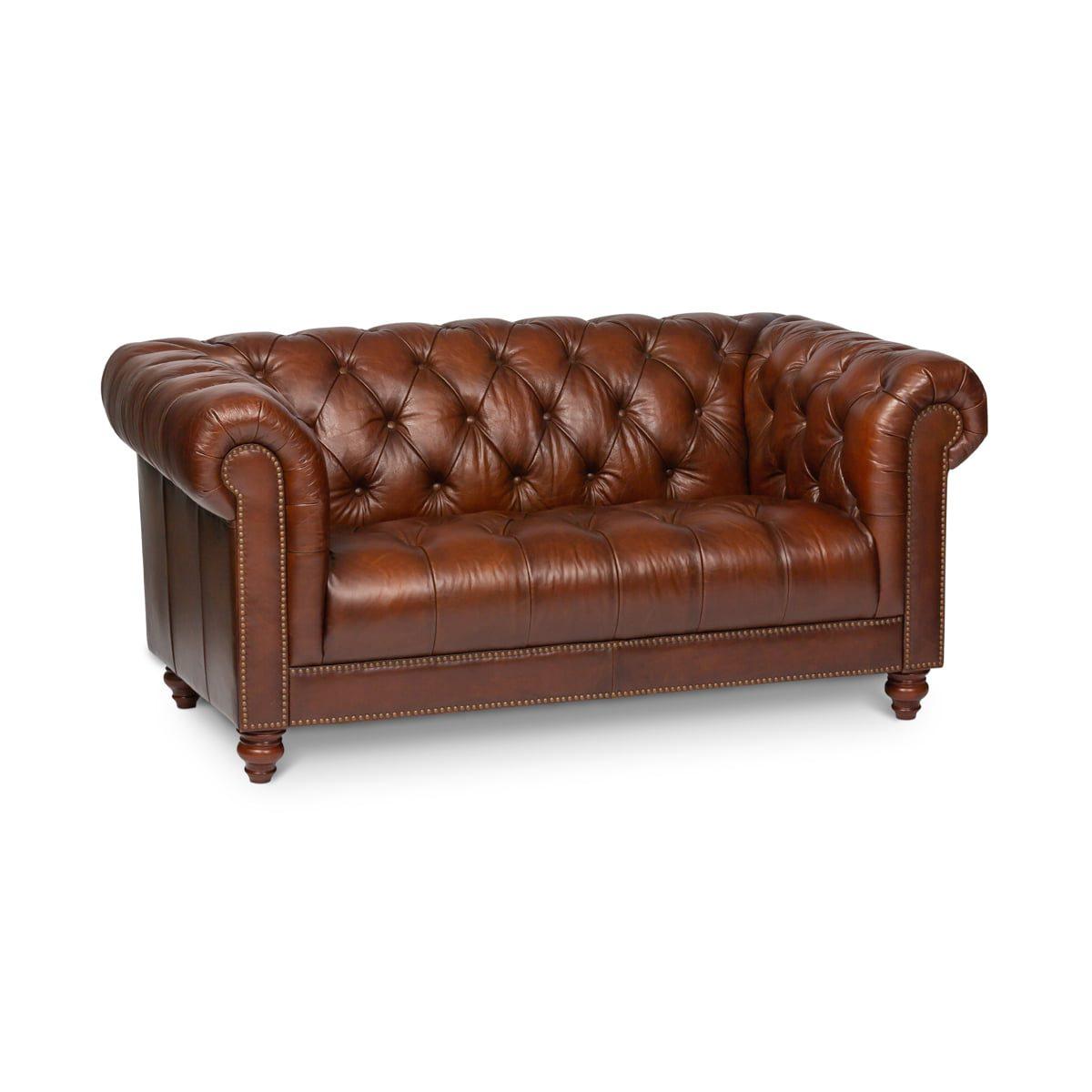 Bologna Vintage Tan 2 Seater Sofa