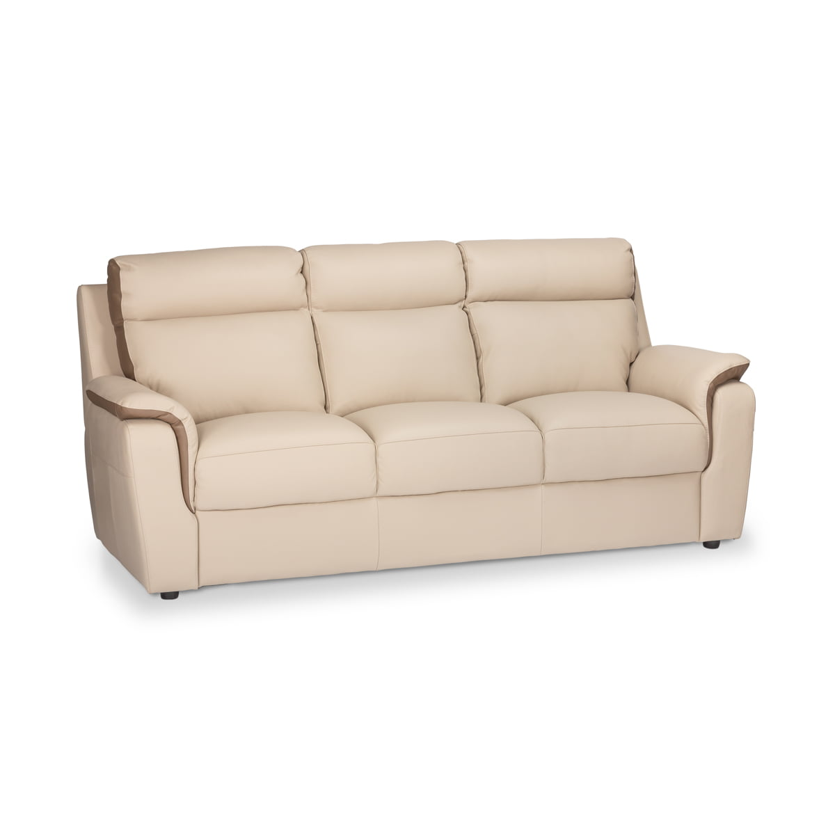 Donatella Leather 3 Seater Sofa