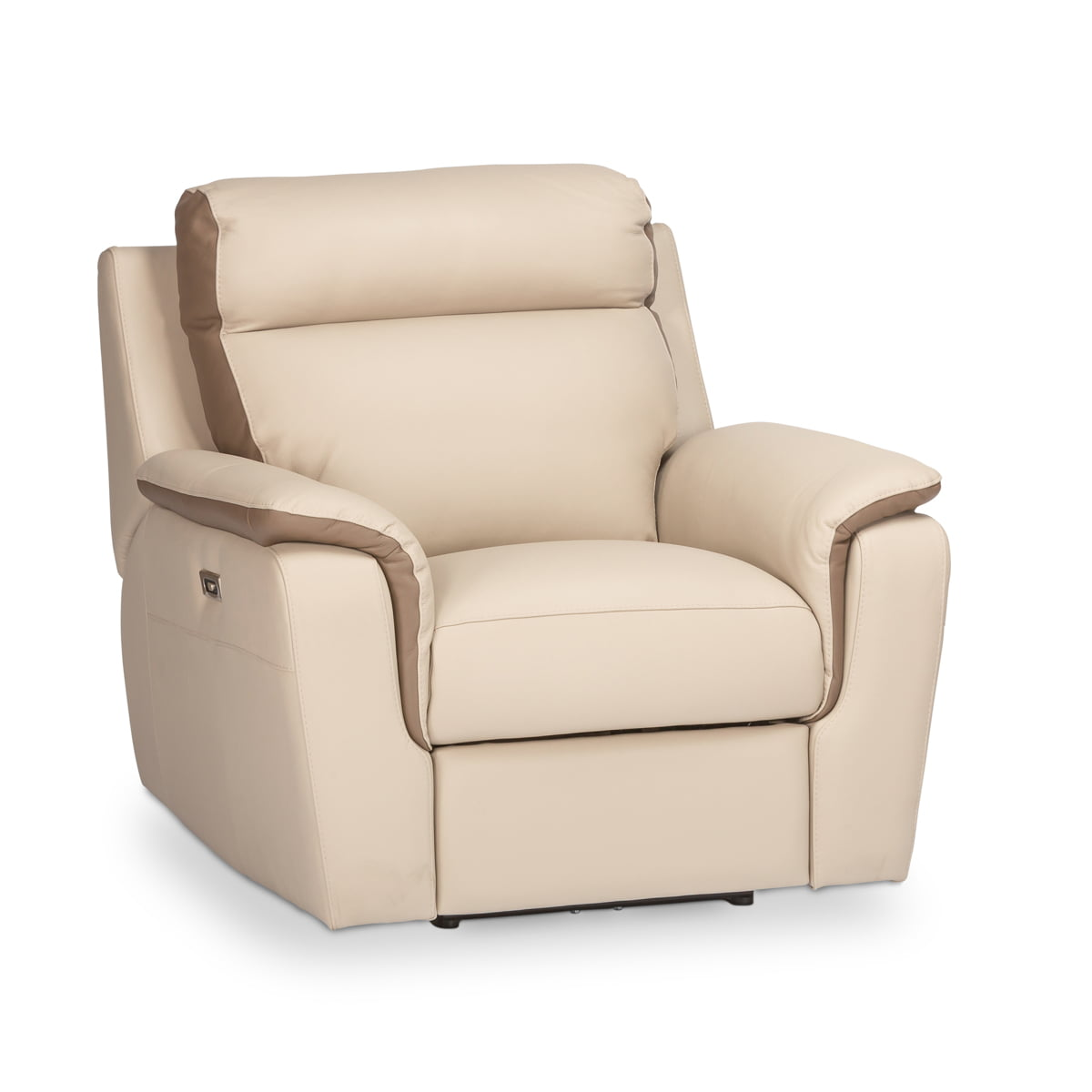 Donatella Leather Powered Recliner
