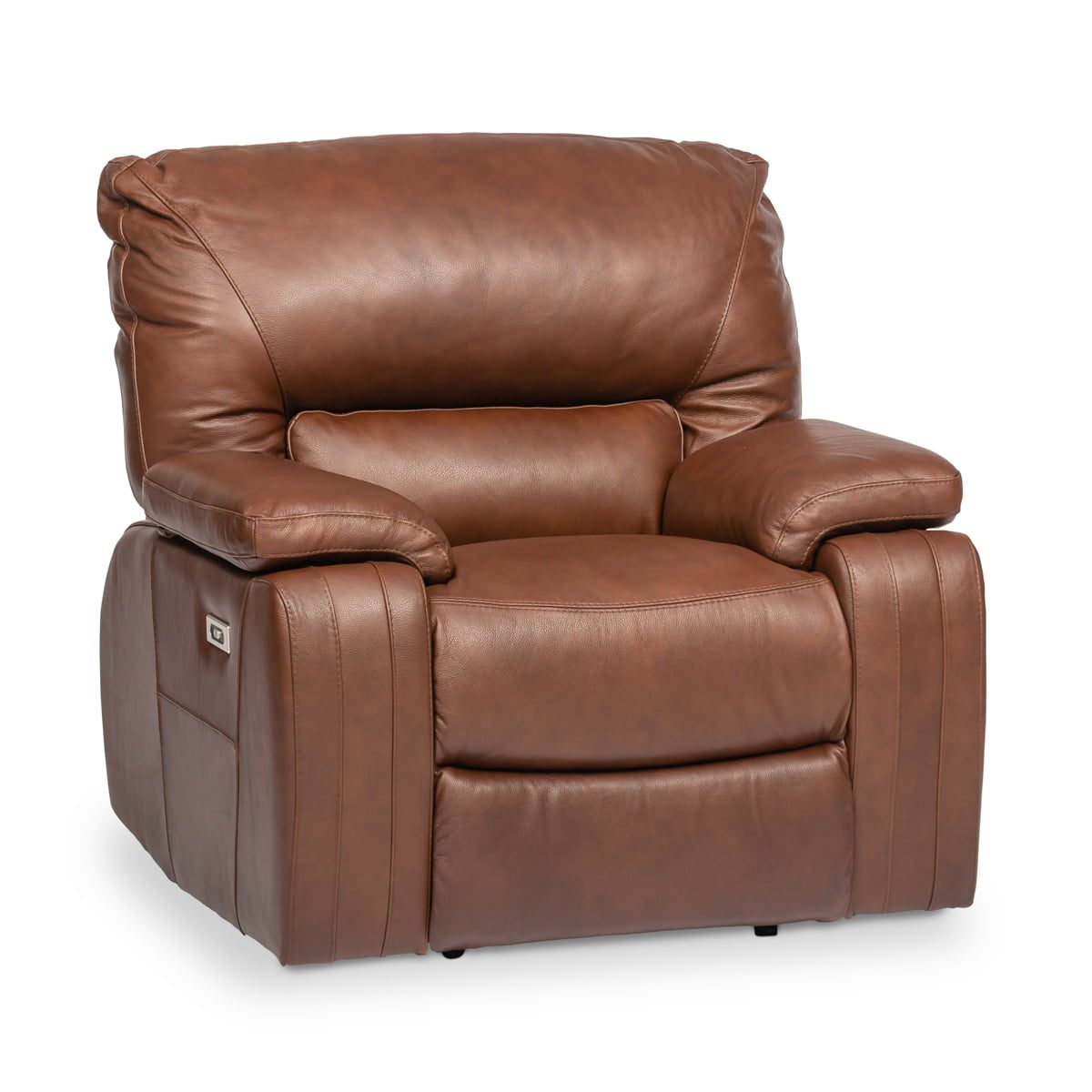 Amerigo Leather Powered Recliner