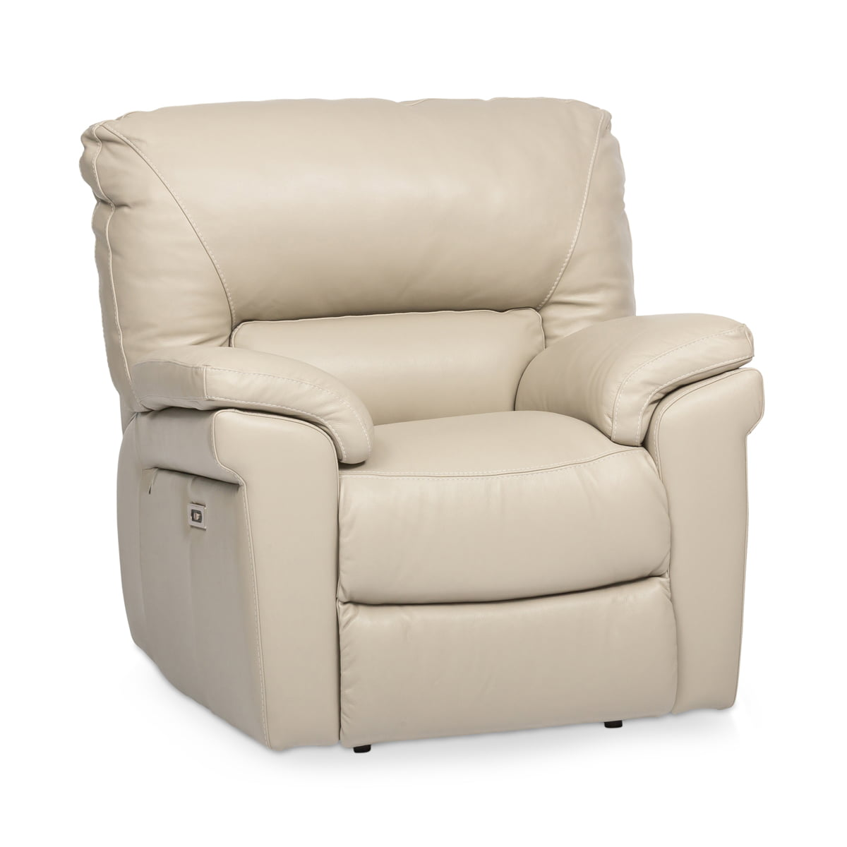 Corrado Leather Powered Recliner