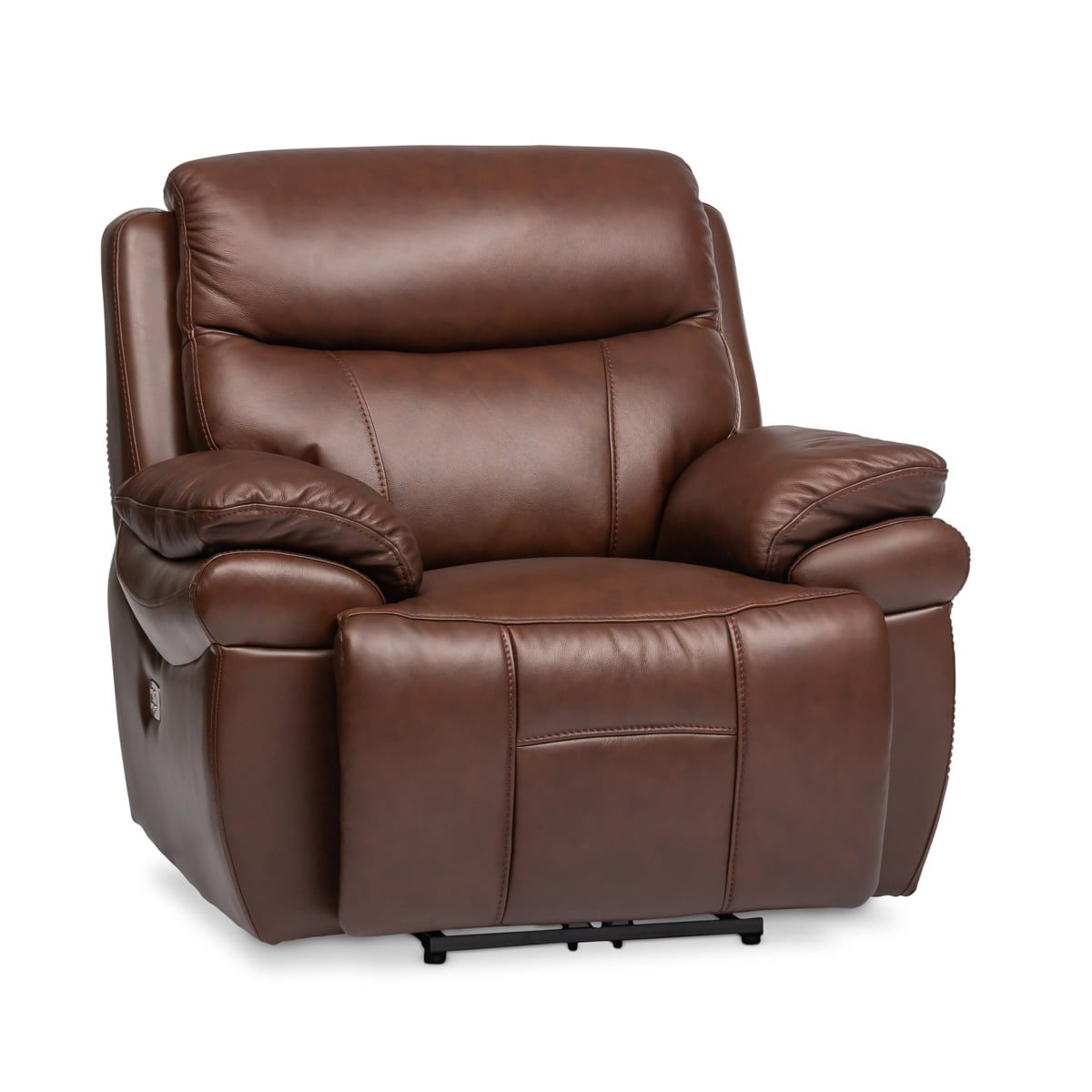 Chocolate Brown Recliner