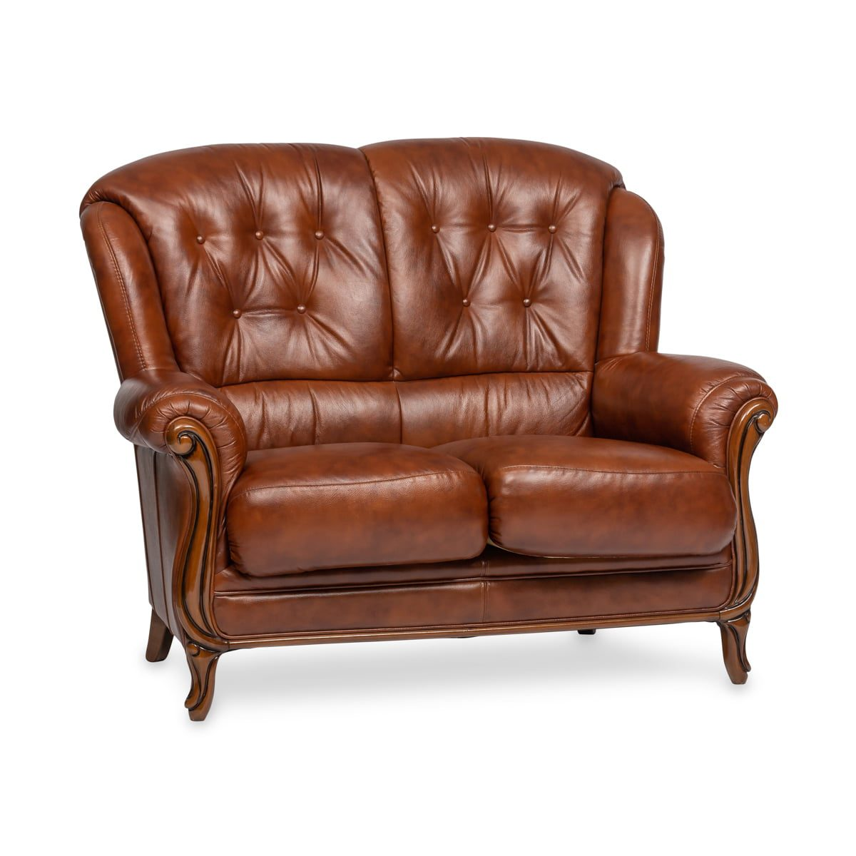 Terni Leather 2 Seater Sofa