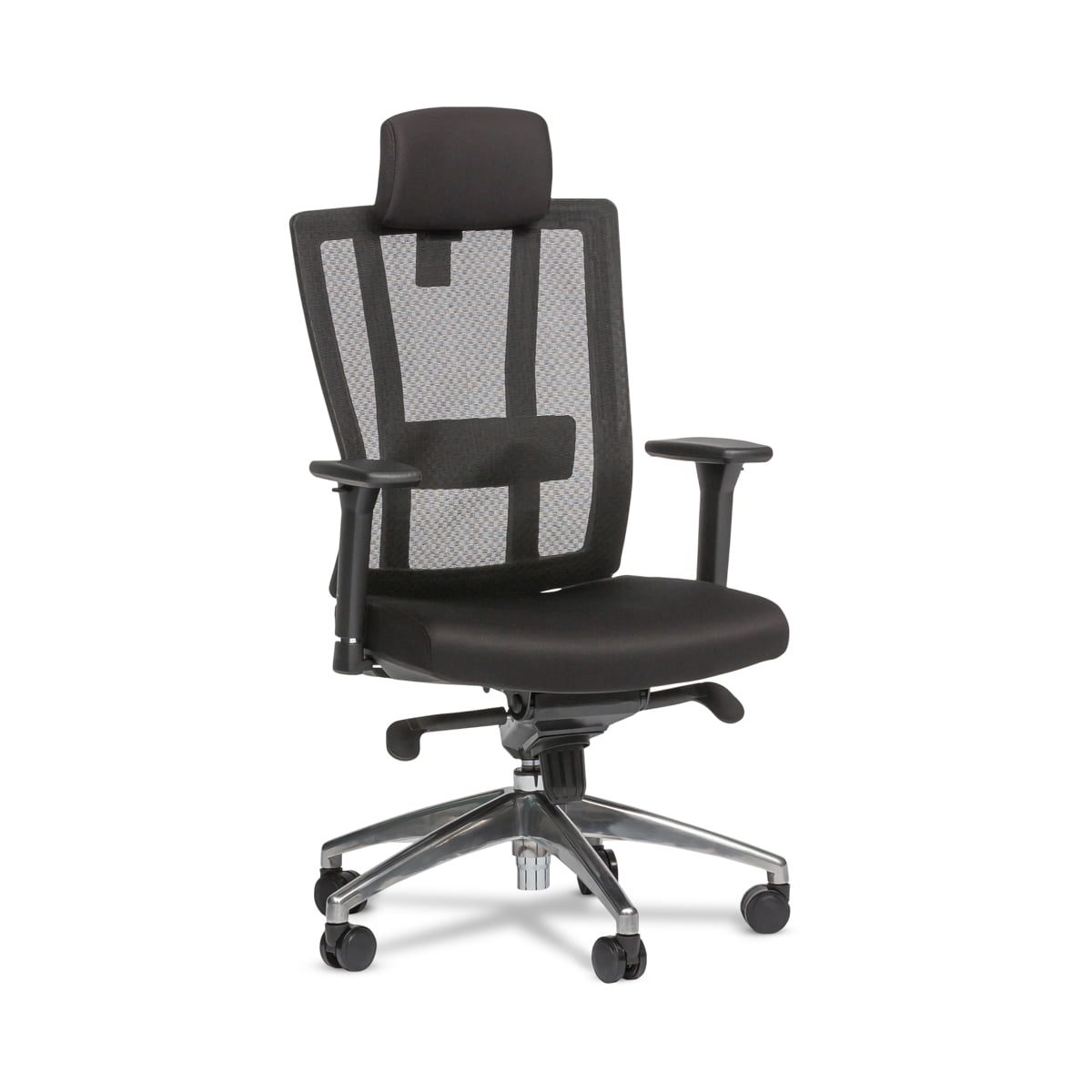 Legacy Black Lumbar Support Office Chair