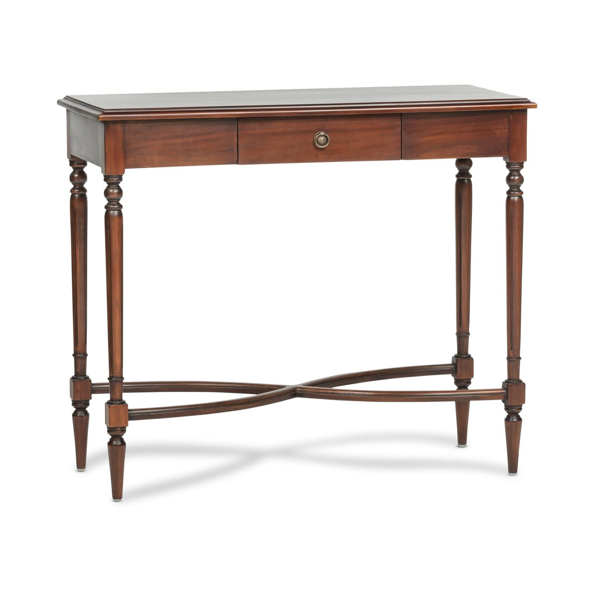 French Oxbow Console Table