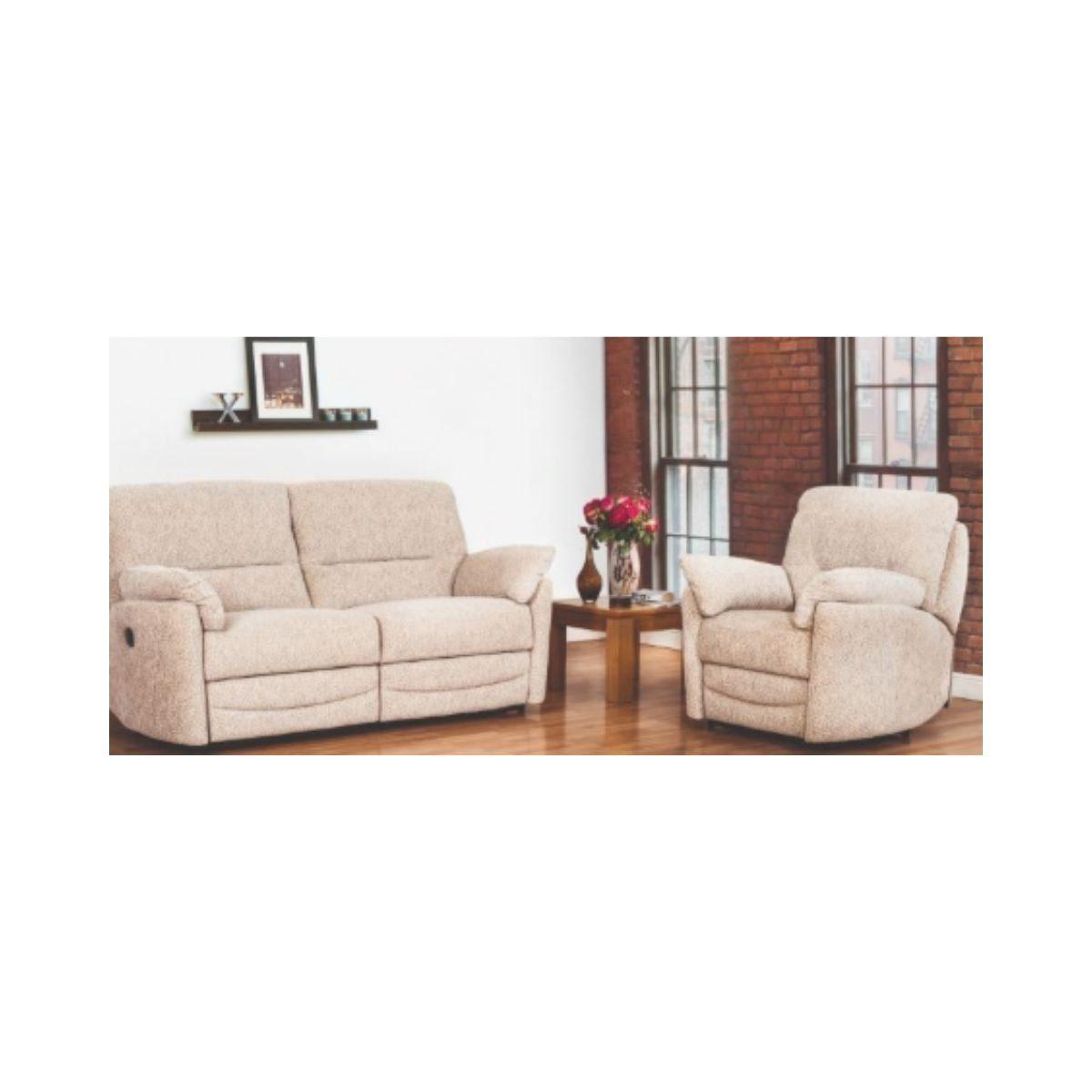 Marshall Fabric Corner Recliner Sofa