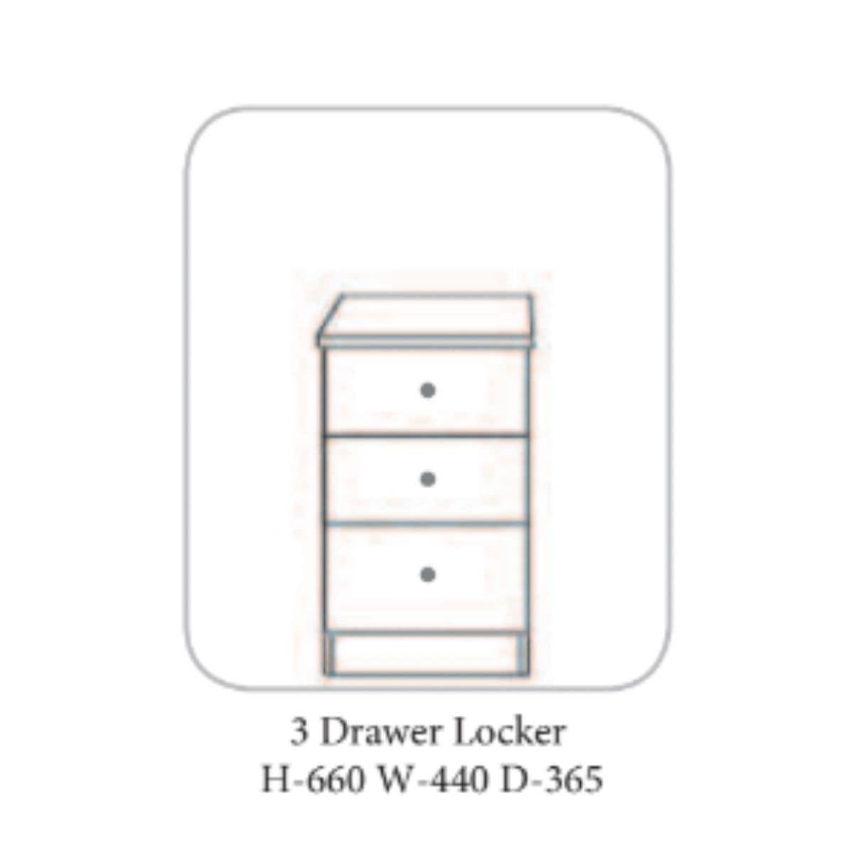 Bandon Locker Walnut - 4 Options