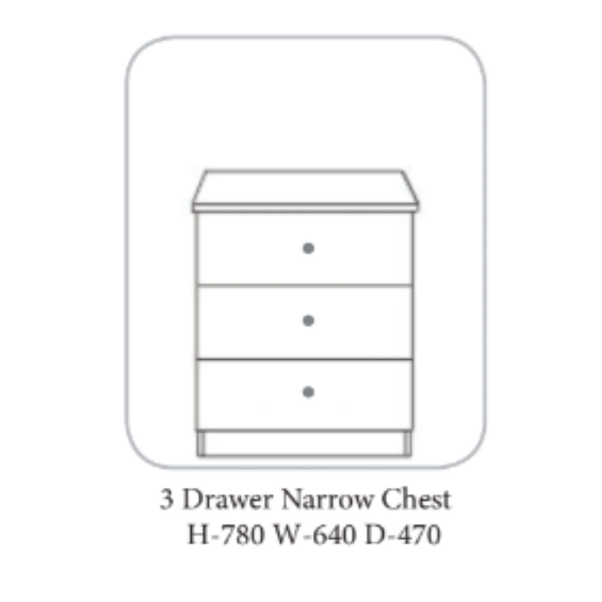 Lee Chest of Drawers Walnut & Ivory - 7 Options