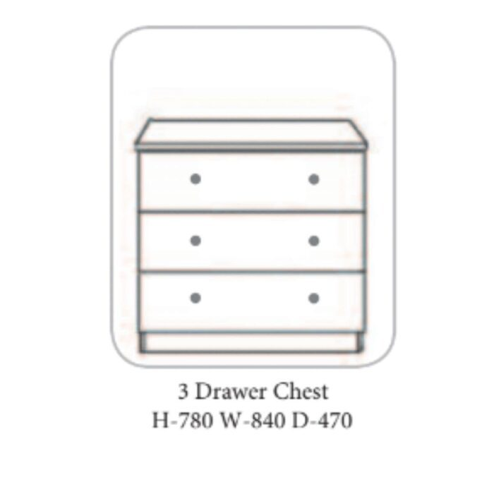 Becky Chest of Drawers Ivory - 7 Options