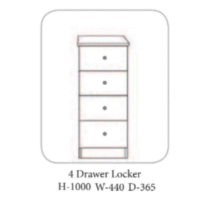 Gurteen Locker Grey - 4 Options