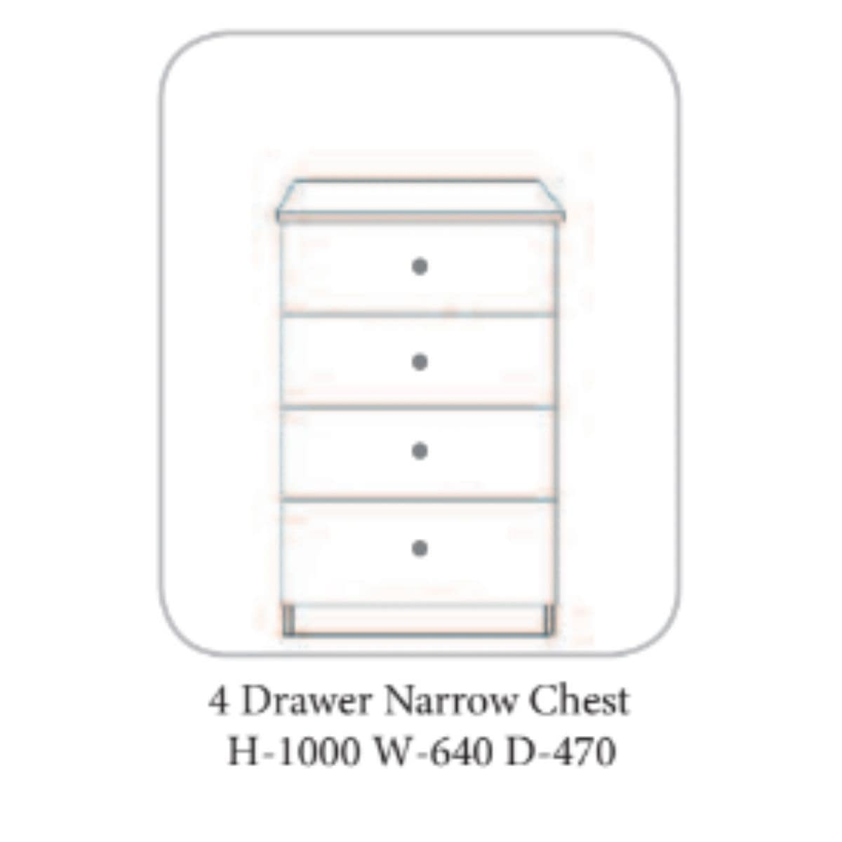 Shannon Chest of Drawers Oak & Ivory - 7 Options