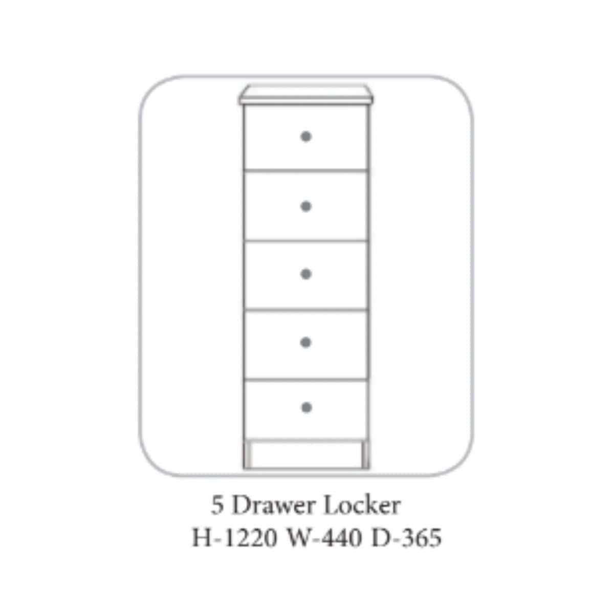 Lee Locker Walnut & Ivory - 4 Options