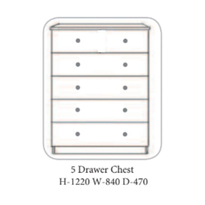Gurteen Chest of Drawers Grey - 7 Options