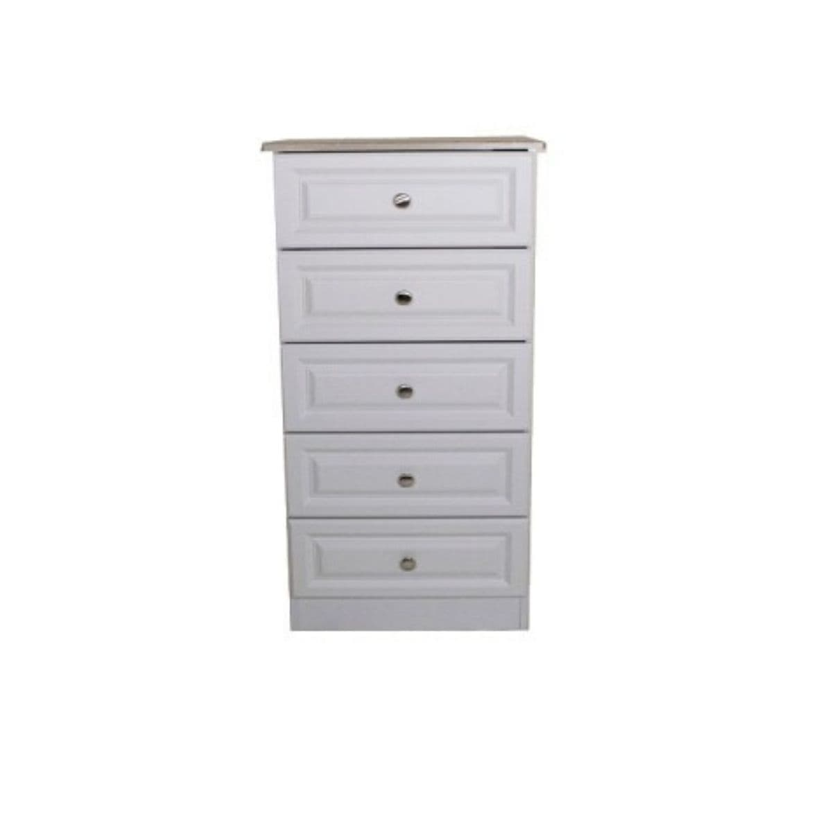 Grey Wood Chest of Drawers